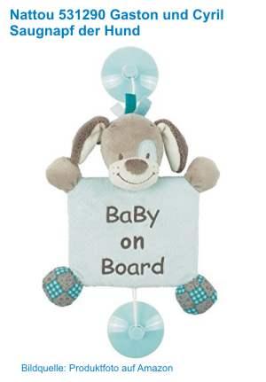 Baby an Bord Saugnapf