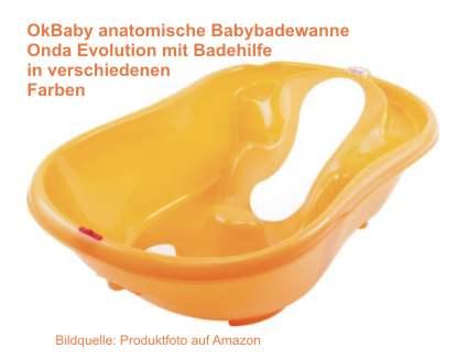 Baby baden Badewanne