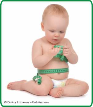 Groessentabelle Baby messen