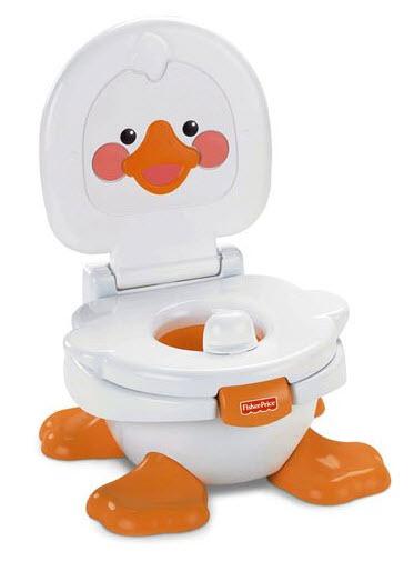 Mattel T6211 - Fisher-Price Baby Gear Ducky Töpfchen & Fußbank