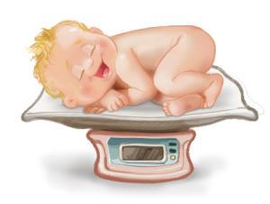 Gewicht Baby
