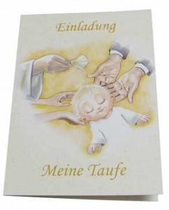 Taufeinladung Text Karte mit Taufe