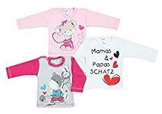Baby Langarmshirt Set 1 auf Amazon