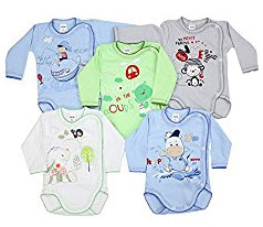 Baby Langarmshirt Set 3 auf Amazon