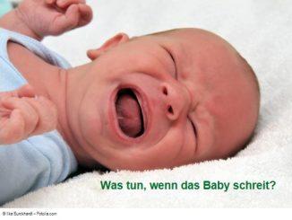 Baby schreit - was tun