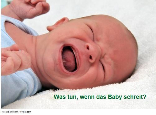 Baby schreit – was tun