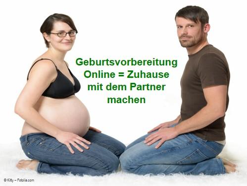 Geburtsvorbereitungskurs online - Zuhause